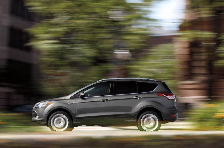 2015 Ford Escape Side In Motion
