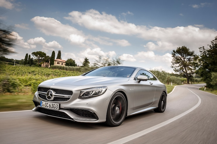 2015 Mercedes-Benz S63 AMG Coupe Second Drive
