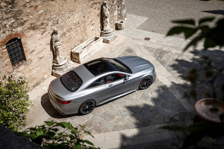 2015 Mercedes Benz S63 AMG 4Matic Coupe Top View