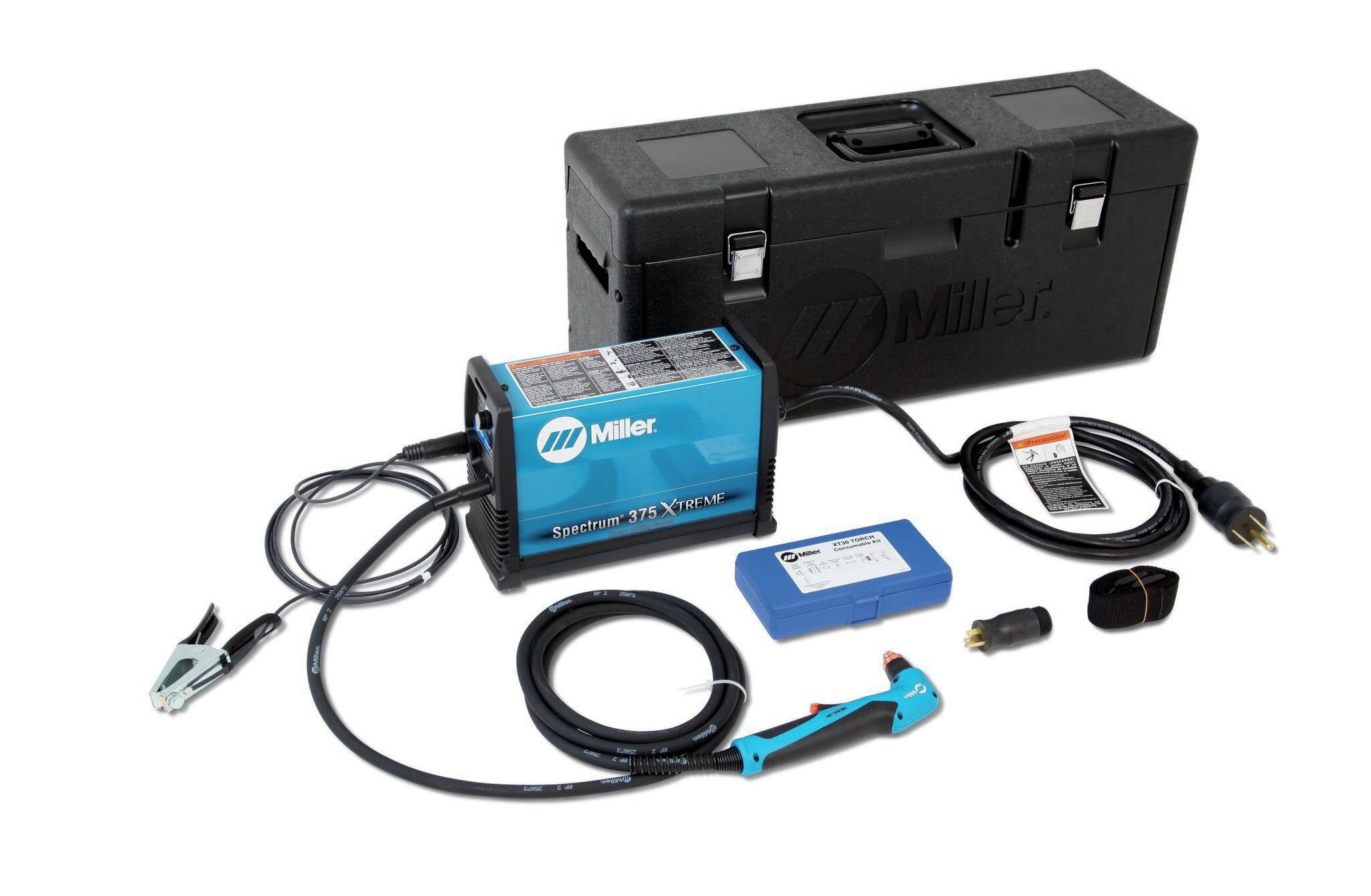 Miller Spectrum 375 >> Miller S Spectrum 375 X Treme Plasma Cutter Tool Of The Month