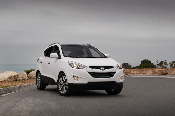 2014 Hyundai Tucson Limited FWD Front Three Quarters