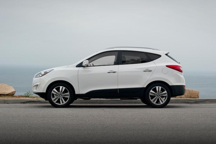 2014 Hyundai Tucson Limited FWD Side Profile