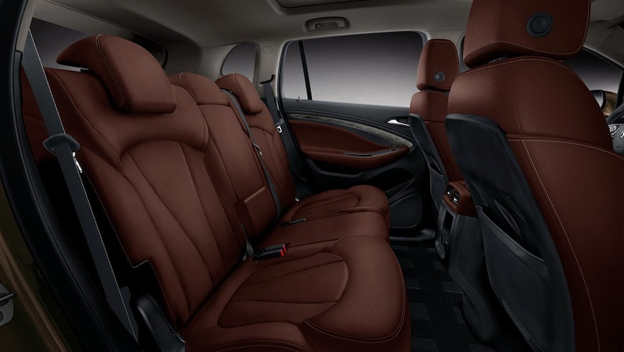 Buick Envision Chinese Spec Rear Interior Seats