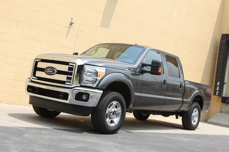 2015 Ford F 250 Super Duty Front