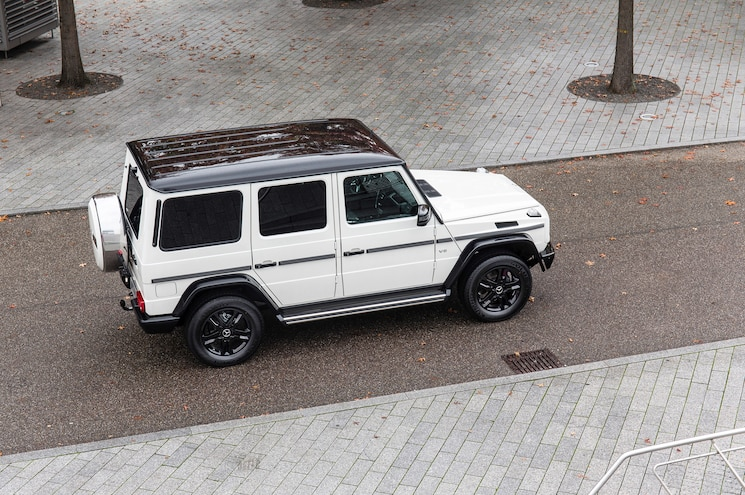 Mercedes Benz G500 Edition 35 Top View