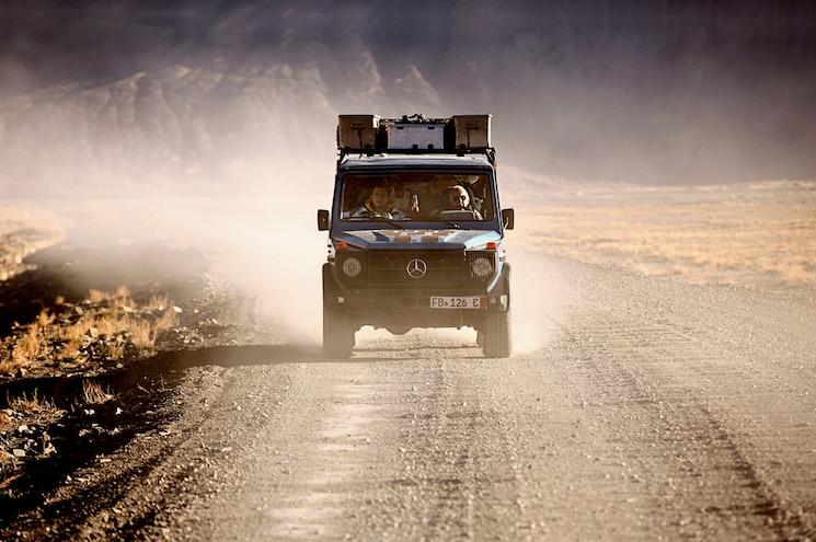 Mercedes Benz 300 GD Front End