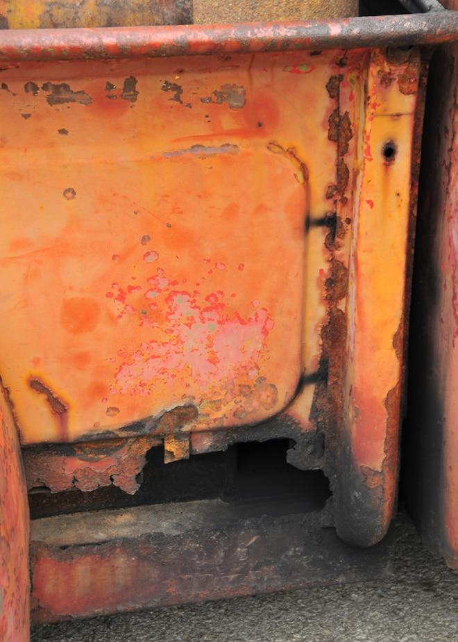 1950 Ford F 1 Rusty