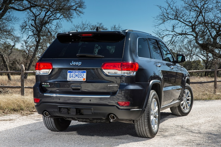 2015 Jeep Grand Cherokee Limited Rear Three Quarter