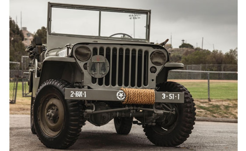 1944 Ford GPW Jeep Auctions America  1  Front