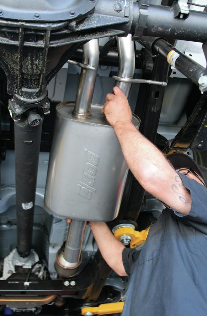 2014 GMC Sierra Borla Exhaust System Install - Breathe Easy