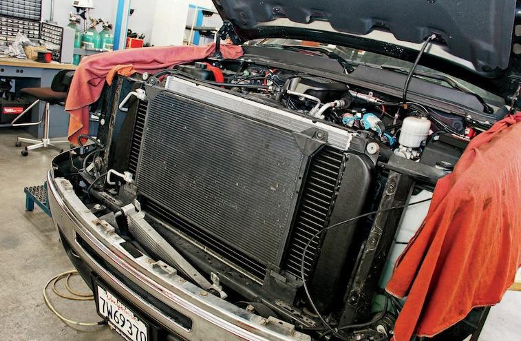 2009 GMC Sierra 2500HD Adding More Power 004