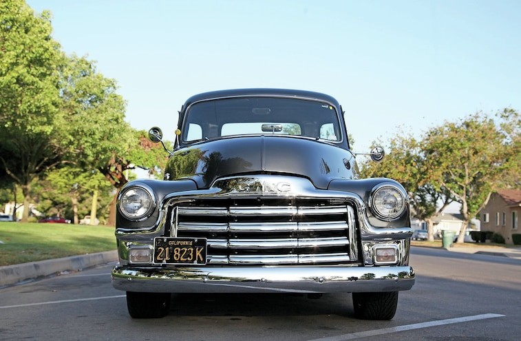1955 GMC First Series Front View