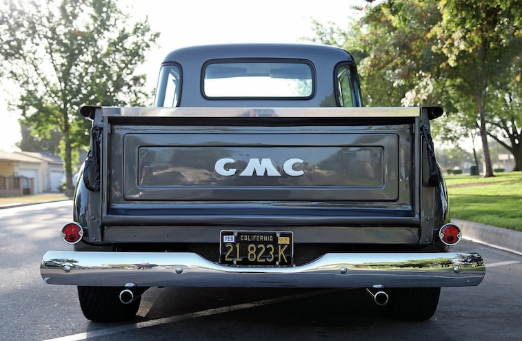1955 GMC First Series Rear View