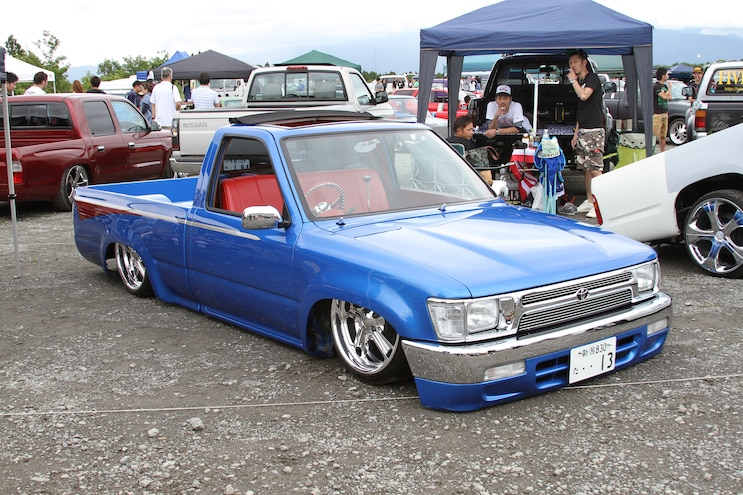 Truck Trends Japan Blue Toyota Pickup