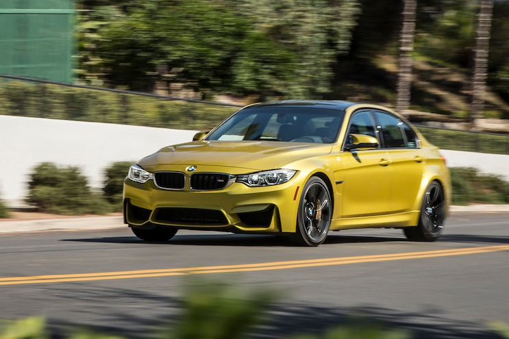 2015 BMW M3 Front Three Quarter In Motion