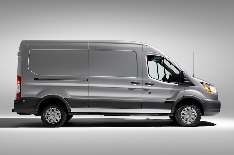 2015 Ford Transit Side Profile
