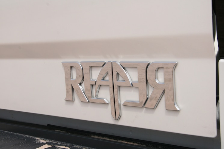 2014 Chevrolet Silverado Reaper Badge