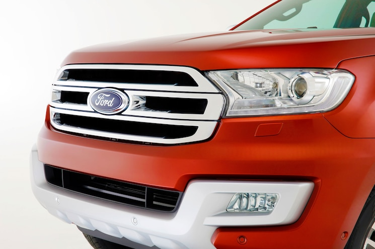 2016 Ford Everest Exterior Grille