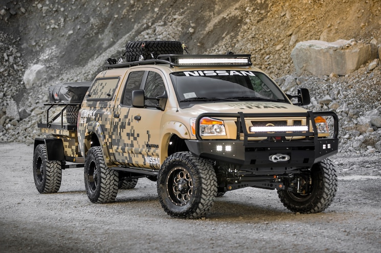 Wounded Warrior Project Nissan Titan Ready for Alaska Adventure