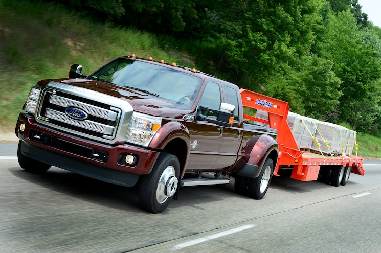 2015 Ford F 450 Super Duty Platinum Front End In Motion