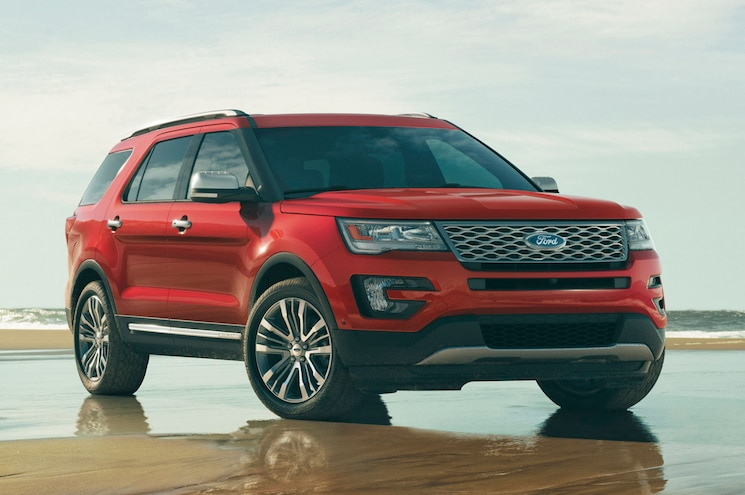 Ford Dishes the Dirt on the Updated 2016 Explorer