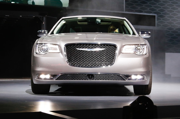 2015 Chrysler 300 Front View On Stage