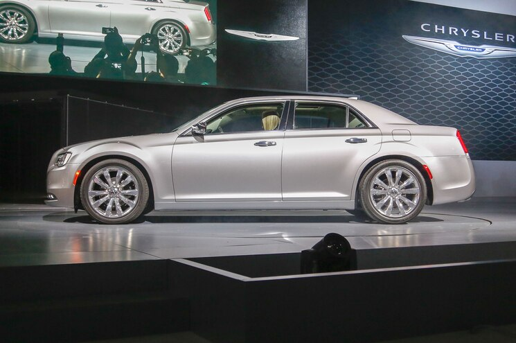 2015 Chrysler 300 Side View On Stage