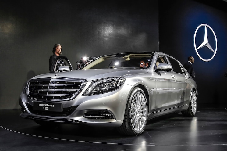 2016 Mercedes Maybach S600 Front End