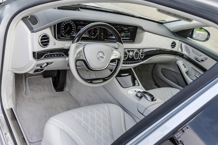 2015 Mercedes Benz S550 Plug In Hybrid Interior