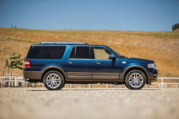 2015 Ford Expedition King Ranch EL Side Profile