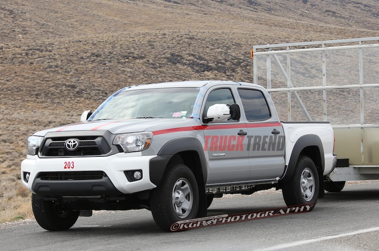 2016 Toyota Tacoma Mule Left Front Angle Driving