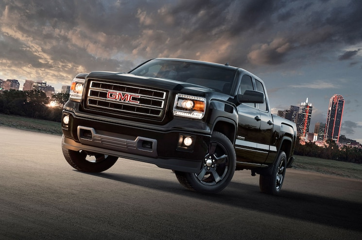 2015 Gmc Sierra 1500 Elevation Front Angle