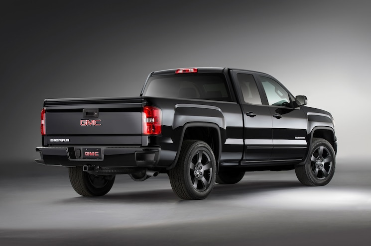2015 Gmc Sierra 1500 Elevation Right Rear Angle