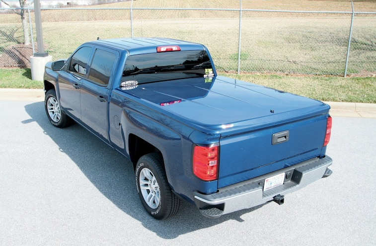 2014 Chevy Silverado BedRug and Swing Cases Install - Build A Bed