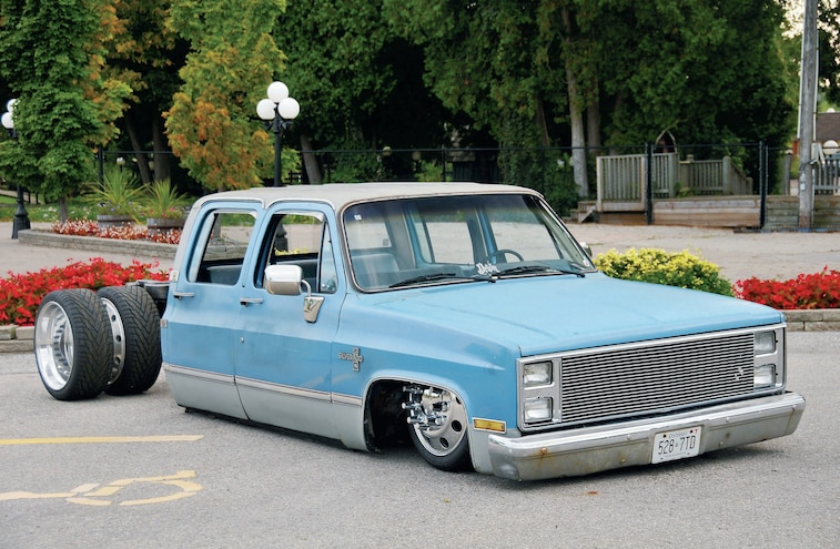 1985 Chevy 1-Ton Crew Cab - Project Dool-Eh - Busted Knuckles