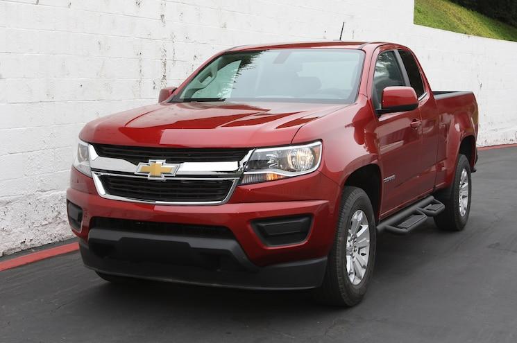 2015 Chevrolet Colorado Front Angle