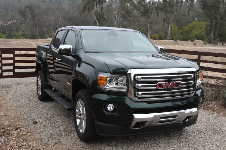 2015 GMC Canyon SLT Front