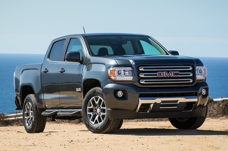 2015 GMC Canyon All Terrain Front Three Quarters