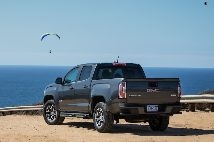 2015 GMC Canyon All Terrain Rear Three Quarters