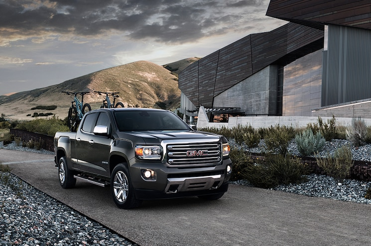 2015 GMC Canyon Crew Cab SLT Front