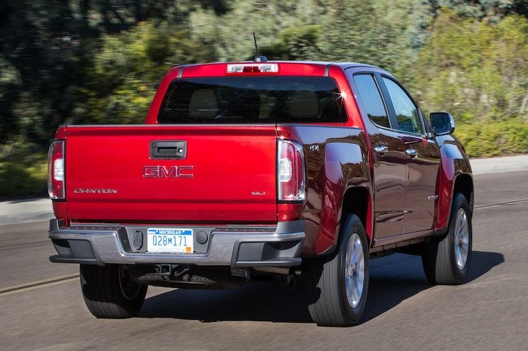 2015 GMC Canyon SLT Rear View