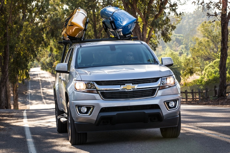 2015 Chevrolet Colorado Z71 Front View In Motion