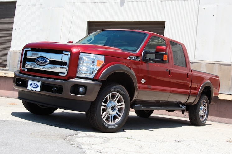 2015 Ford F 350 Super Duty Front View