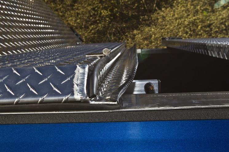 DiamondBack HD ATV Bedcover Install 04