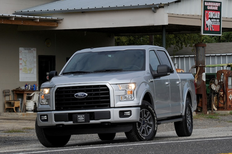 Weight-Saving Features on the 2015 Ford F-150