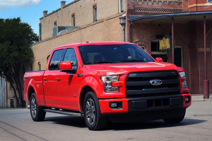 2015 Ford F 150 Front Three Quarters