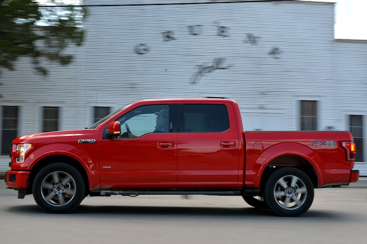 2015 Ford F 150 Side In Motion