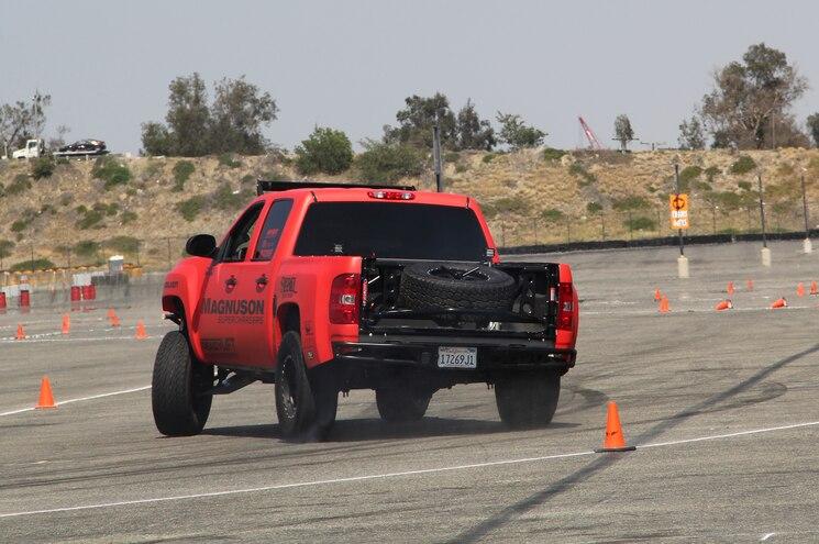 Magnuson 2012 Chevrolet Silverado 1500 Rear View