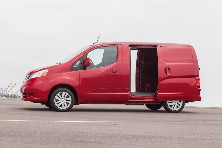 2015 Nissan Nv200 Side View Doors Open