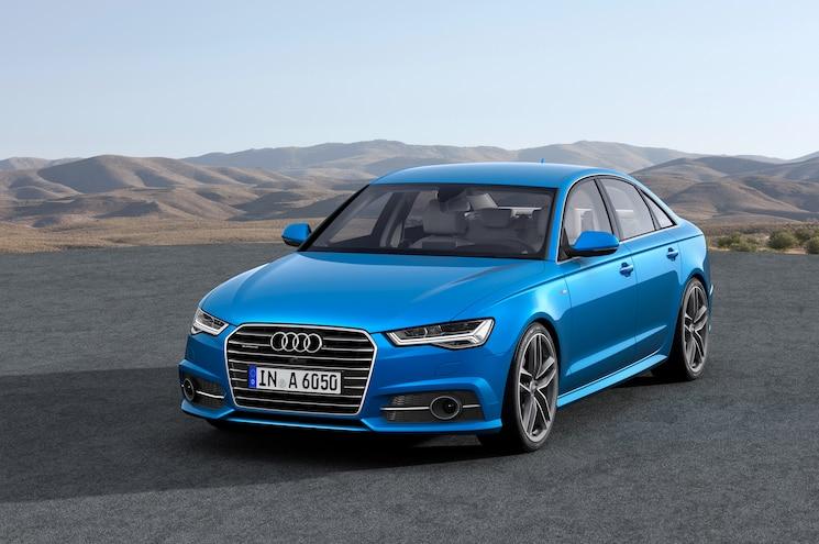 2016 Audi A6 European Spec Front End